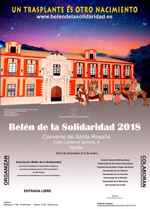 Belenes Navideños 2018-2019 en Sevilla